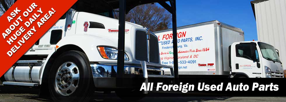 Welcome to All Foreign Used Auto Parts of VA